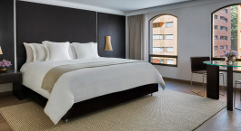 Enchanting Travels - Colombia Tours - Bogota - Four Seasons Bogota - Bedroom