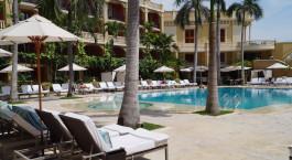 Enchanting Travels -  Kolumbien Resien - Cartagena - Santa Clara Sofitel - Pool