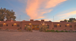 Exterior view of La Casa de Don Tomas Hotel in San Pedro de Atacama, Chile