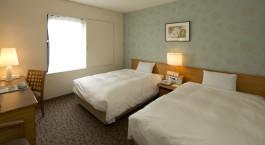Zweibettzimmer im Fujita Nara Hotel in Nara, Japan