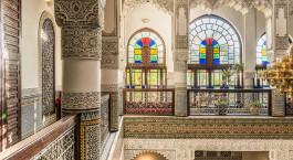 Lobby Bereich im Riad Fes Hotel in Fes, Marokko