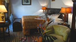 Doppelzimmer im La Maison Bleue in Fes, Marokko