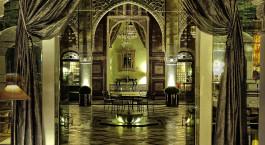 Lobby im Palais Faraj in Fes, Marokko
