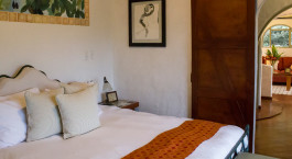 Bedroom at Finca Rosa Blanca in San José, Costa Rica