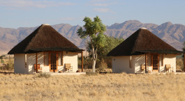 Exterior view of Sossusvlei Desert Lodge Hotel in Sossusvlei, Namibia