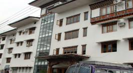 Lhaki Hotel Phuentsholing Bhutan facade