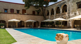 Enchanting Travels Mexico Tours Oaxaca Hotels Quinta Real Oaxaca Pool