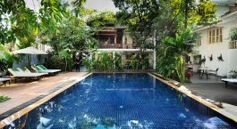 Enchanting Travels - Cambodia Tours -Phnom Penh - Villa Langka - Pool
