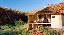 Exterior view at Damaraland Camp in Damaraland (Palmwag), Namibia