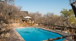 Pool at Ongava Lodge in Etosha (Anderson Gate), Namibia