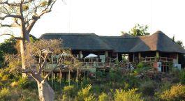 Außenansciht im Ngoma Safari Lodge Hotel in Chobe National Park, Botswana