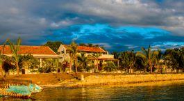 Außenansicht im Ibo Island Lodge in Quirimbas, Mosambik