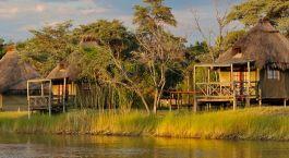 Enchanting Travels Namibia Tours Caprivi Hotels Camp Kwando panorama