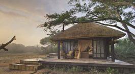 Außenansicht im Phinda Vlei Lodge Hotel in Phinda Wildschutzgebiet, Südafrika