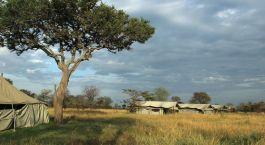 Außenansicht Safarizelt