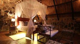 Zimmer im Big Cave Camp Hotel in Matobo Nationalpark, Zimbabwe
