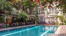 Enchanting Travels - Asien Reisen- Myanmar -  Savoy Hotel -  Pool