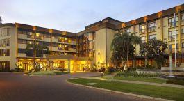 Exterior view of Kigali Serena Hotel in Kigali, Rwanda
