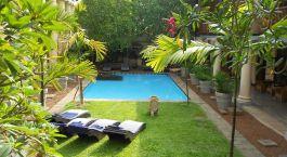Außenansicht im Galle Fort Hotel, Galle Fort, Sri Lanka