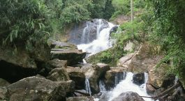 Wasserfälle im Sinharaja Regenwald