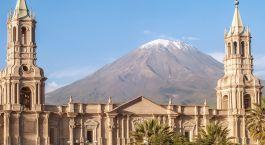 Arequipa, die weiße Stadt umgeben von Vulkangebirge
