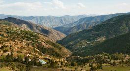 Himalayapanorama in Shimla