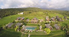 Overview von Sanak Retreat, Munduk, Indonesien