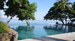 Treppenpool von Hotel Jeeva Klui, Lombok, Indonesien