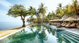 Pool at Qunci Villas, Lombok, Indonesia