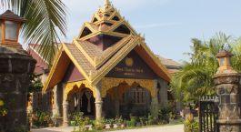 Exterior view at Shwe Thazin Hotel Mrauk U in Mrauk U, Myanmar