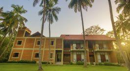Außenansicht im Hotel Arika Villa, Dambulla, Sigiriya in Sri Lanka