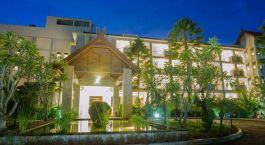 Exterior view of Bintang Flores Hotel in Labuan Bajo, Indonesia