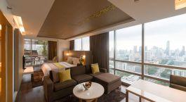 Zimmer im Hotel Pathumwan Princess Hotel in Bangkok, Thailand