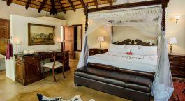 Doppelzimmer im Shiduli Private Game Lodge, Zentral Kruger in Südafrika