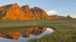Africa Lesotho The Three Bushmen at Sehlabathebe NP in Lesotho Enchanting Travels