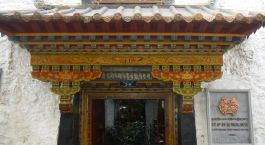 Enchanting Travels Tibet Tours Lhasa Hotels Lingtsang Boutique Hotel entrance