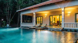 Pool at Poulo Condor Resort and Spa Hotel in Con Dao, Vietnam