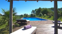 Pool at Estancia La Sofia Boutique Hotel & Polo Resort in Buenos Aires Privince, Argentina