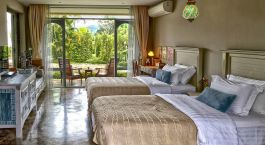 Double room at Reverie Siam Resort in Pai, Thailand