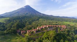Enchanting Travels - Costa Rica Tours - Arenal Hotels - Arenal Kioro - Aerial view