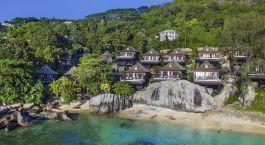 Exteriol view of Hilton Northolme Resort & Spa in Mahe, Seychellen