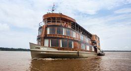 Enchanting Travels Peru Tours Iquitos Cruises Delfin II Amazon Cruise Ship