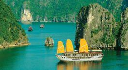 Enchanting Travels Guest - Traveled to Cambodia, Vietnam, Asia - Indochina Sail Cruise Halong Bay - Christina Simkins