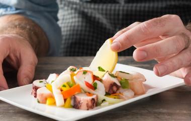 cuisine in Peru - ceviche - Lima food tour