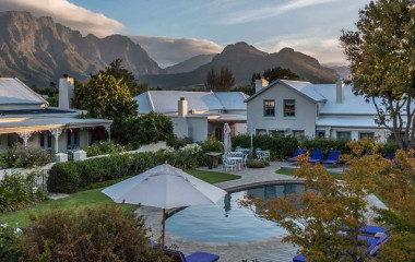 Exterior view of Le Quartier Francais in Winelands, South Africa