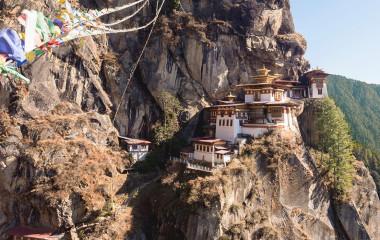 Bhutan Sehenswürdigkeiten: Tigernest Kloster