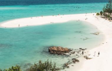 Ansicht eines Strandes in Thailand