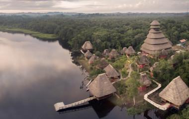 Enchanting Travels - Ecuador Tours - Yasuni - Napo Wildlife Center - view from above