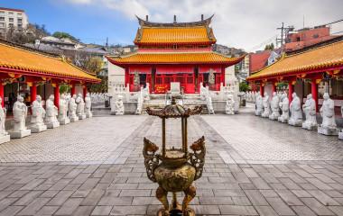 Enchanting Travels Japan Tours NagasakiNagasaki, Japan at Confucius Shrine