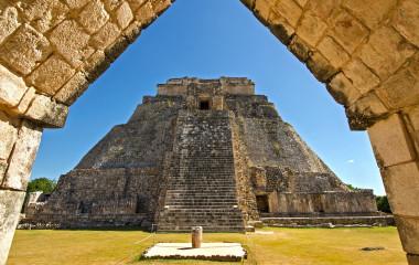 Ciudad Prehispanica de Uxmal, Mexico